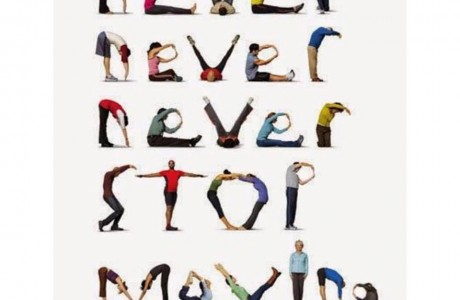 never never never stop moving!